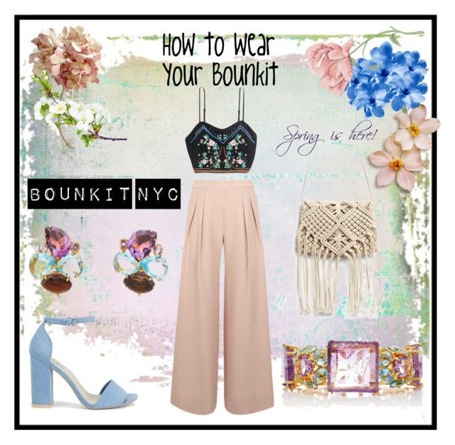 How to wear your Bounkit by bounkitnyc on Polyvore featuring Antipodium, Nly Shoes and Bounkit