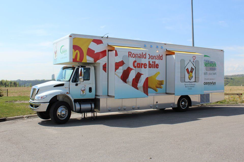 Ronald McDonald Care Mobiles are state-of-the-art mobile units delivering cost effective, high quality health care to children in vulnerable communities.   www.RMHC.org
