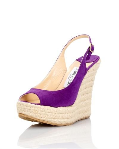Jimmy Choo Polar Wedges- Made in Italy