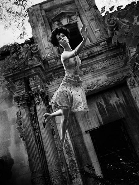 Fly, Dior Spring Collection, Harper's Bazaar, Paris, 1965 ©Melvin Sokolsky