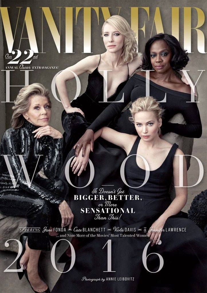 Gorgeous Covers: Vanity Fair's HollyWood 2016