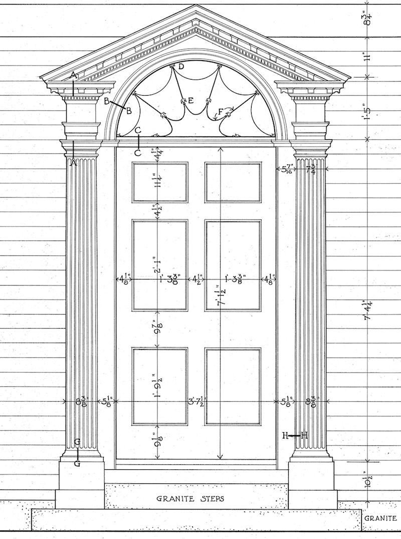 Perfect Architectural Proportions The No Fail Formula Georgian Doors Georgian Architecture Architecture
