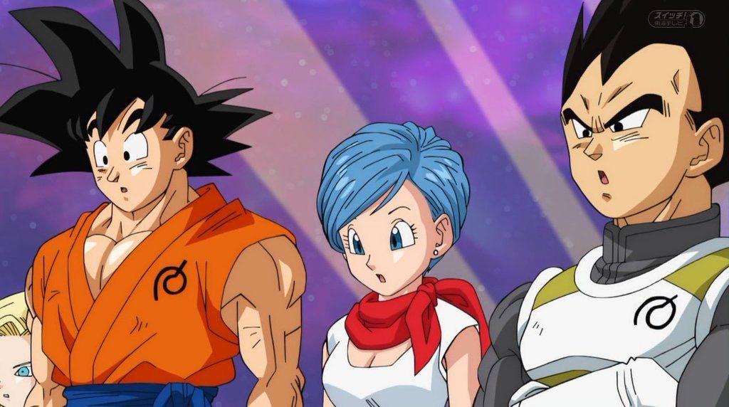 Goku Vegeta And Bulma Anime Dragon Ball Dragon Ball Artwork Dragon Ball Super