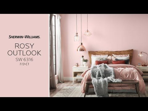 Sherwin Williams Color Of The Month SW 6316 Rosy Outlook 113 C1 Soothing Sophistication Universal APPEAL Warm Grays Add Contemporary Style Live Edge