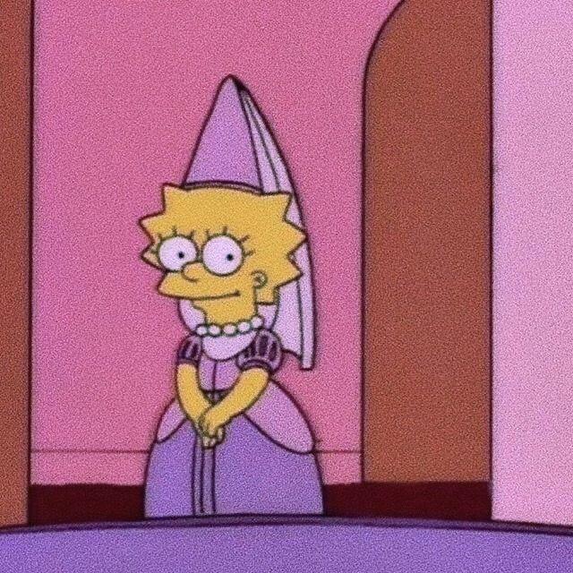Mood Aesthetic Lisa Simpson