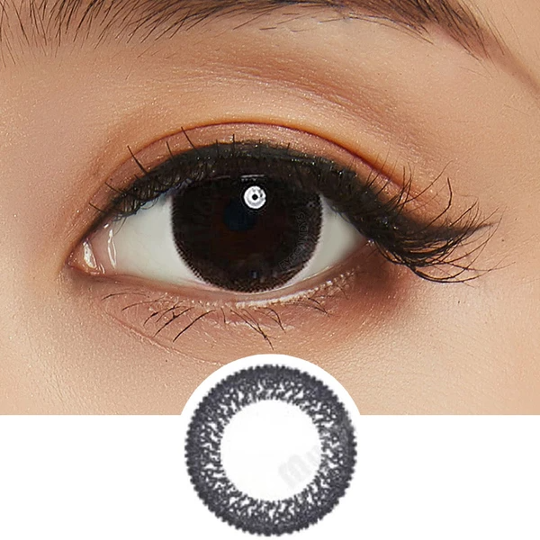 Bausch Lomb Lacelle Dazzle Ring Shimmering Black 30pk Cosmetic Contact Lenses Black Contact Lenses Contact Lenses Colored