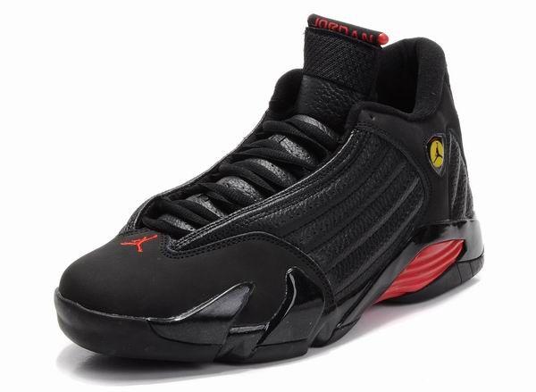 cheap for discount 268e2 d5705 Air Jordan 14 Retro Shoes Black Red