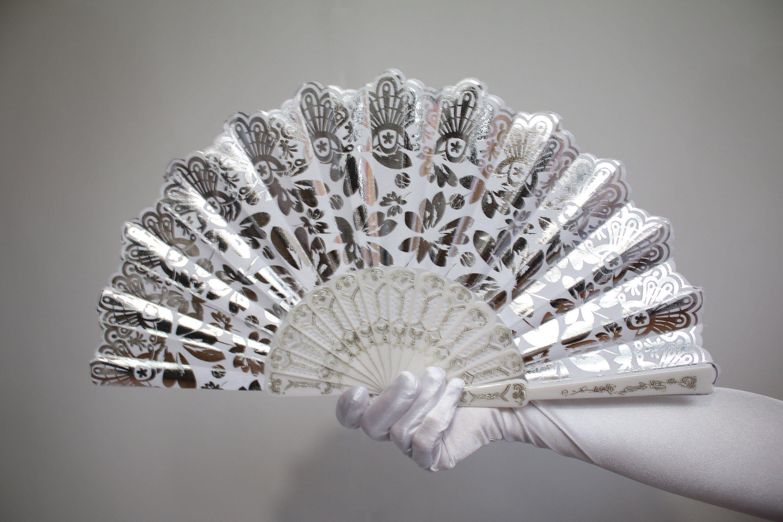 Women Feather Fan Lady Handheld Wedding Fans Photograph Dance Props Non-folding