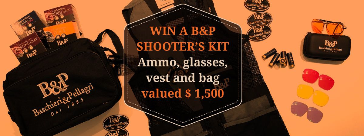 Want to win a complete B&P shooter's kit? 😎Join our
