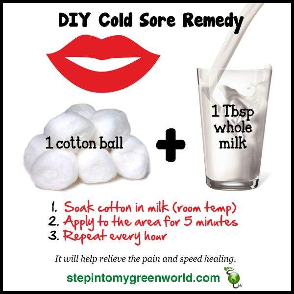 This Is A Fast Inexpensive Cold Sore Remedy Share Like