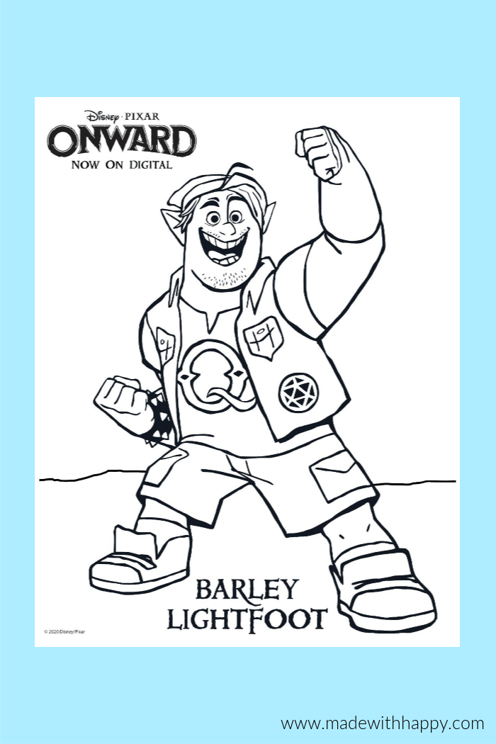 Onward Disney Coloring Pages For Kids Disney Coloring Pages Coloring Pages For Kids Coloring Pages