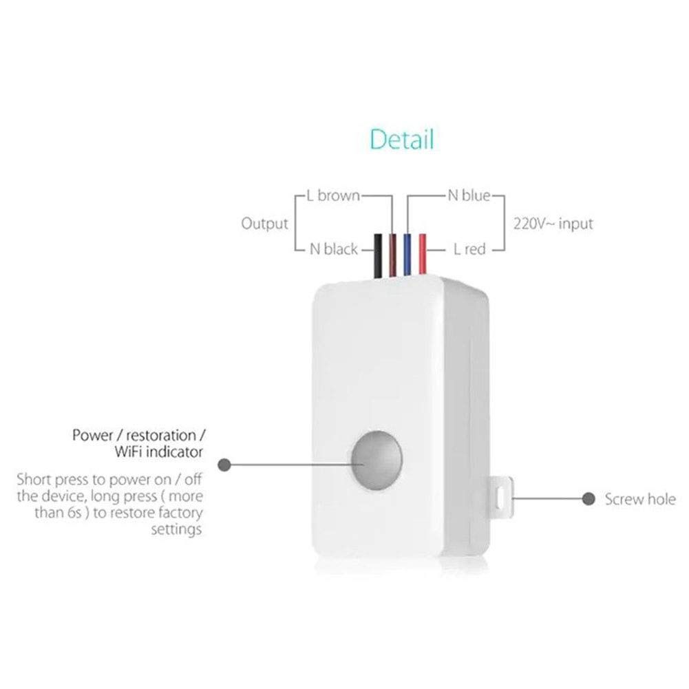 ETbotu Home Automation Modules Smart Switch WiFi APP Control
