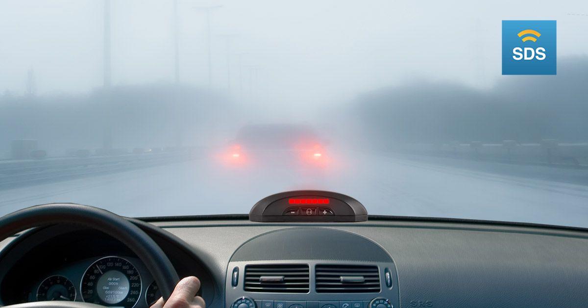 It works in the fog, rain, sun glare, or snow. Safe
