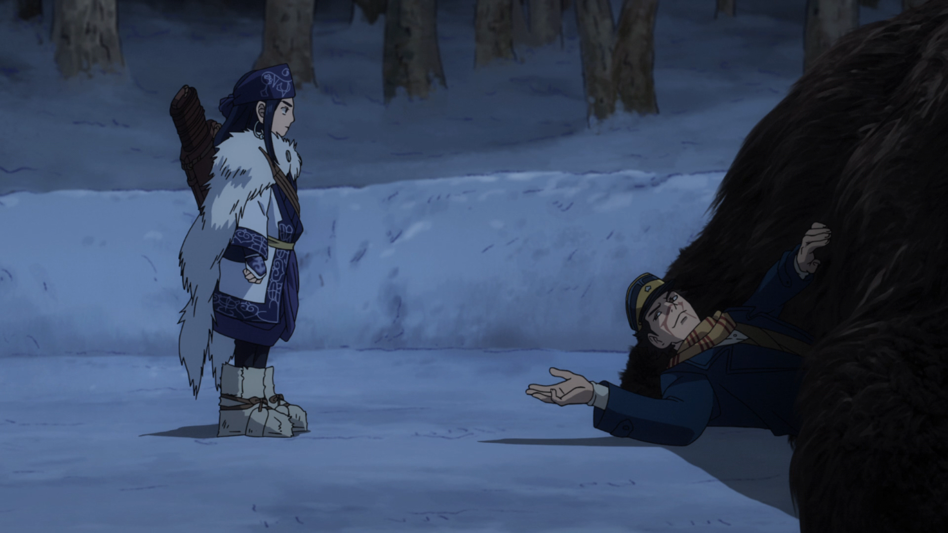 Golden Kamuy Episode 01 Anime Review