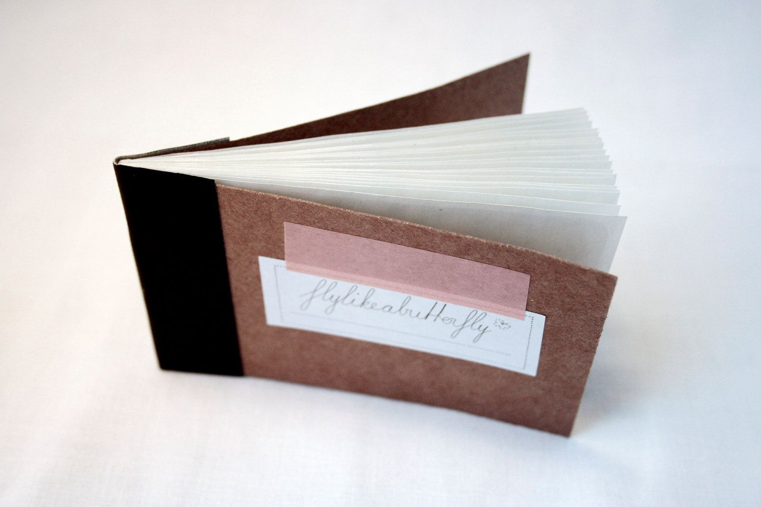 fly like a butterfly - hand-made envelope book X