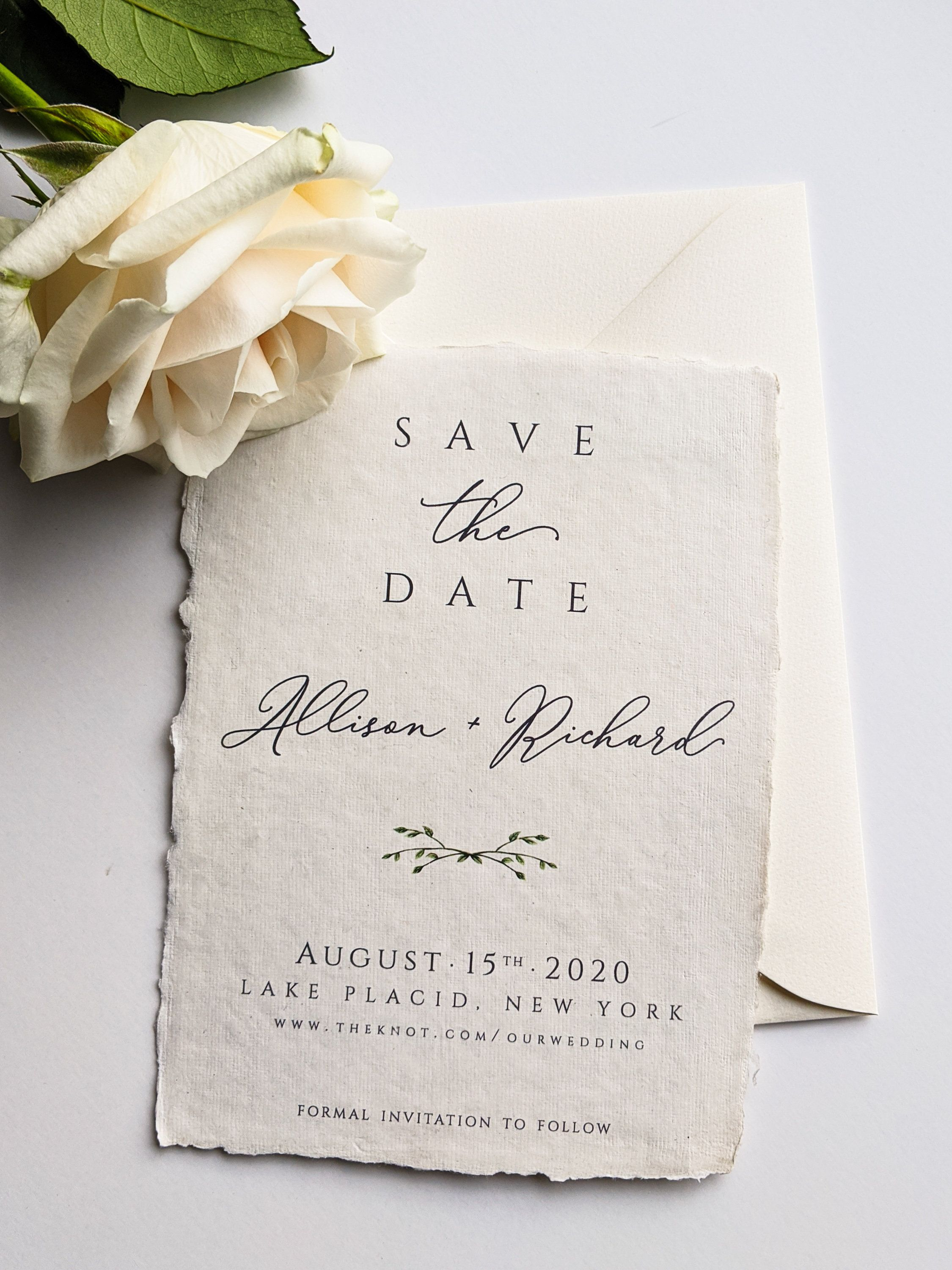 Save the Date Handmade Paper Handmade Paper Save the date Save our Date Vintage Book Save the Date Letterpress Save the Date