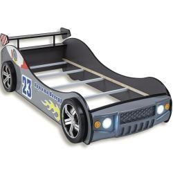 Photo of Autobett – silber – mit Beleuchtung – 90×200 cm RollerRoller