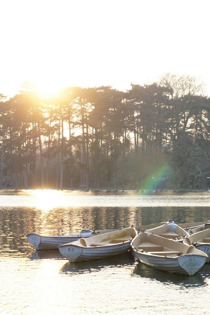Bois De Boulogne Boat Rental Paris France Europe Travel