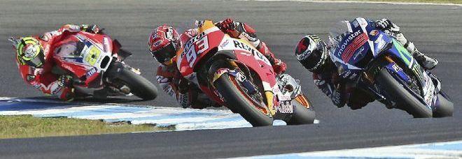http://motobrunek.blogspot.it/: Phillip Island: vince Marquez, beffa Lorenzo, Iann...
