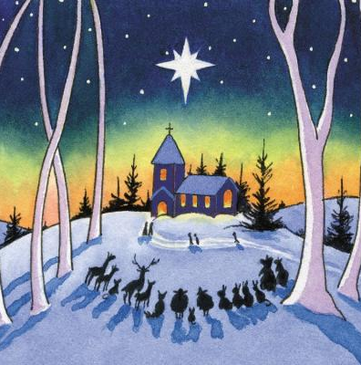 Parkinsons UK nativity Christmas card see the top 50