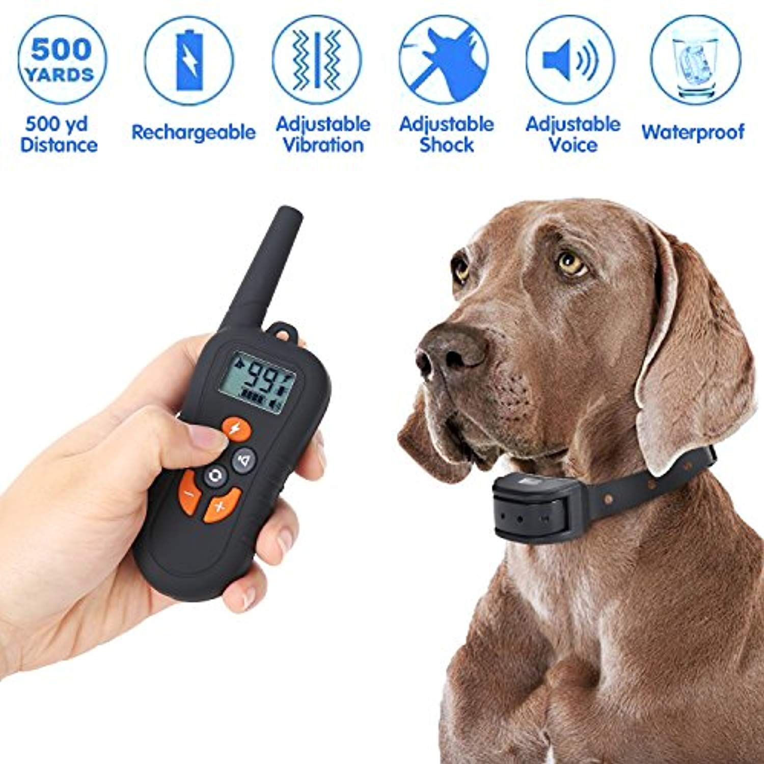 Yesurprise Dog Training Collar Remote Pet Control Device