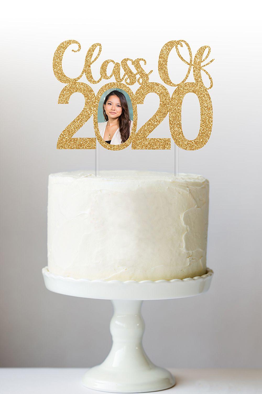 Class of 2020 Cake Topper in 2020 | Graduation cake ...