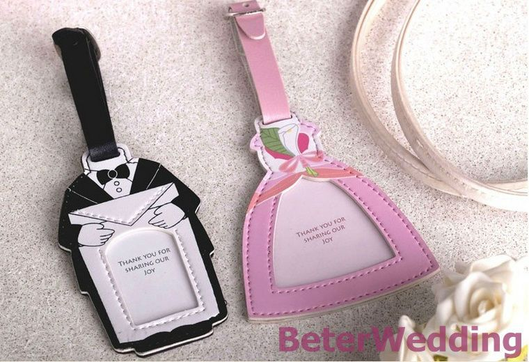 novelty Bride and Groom Luggage Tag 20pcs, 10set, ZH018 use as ...