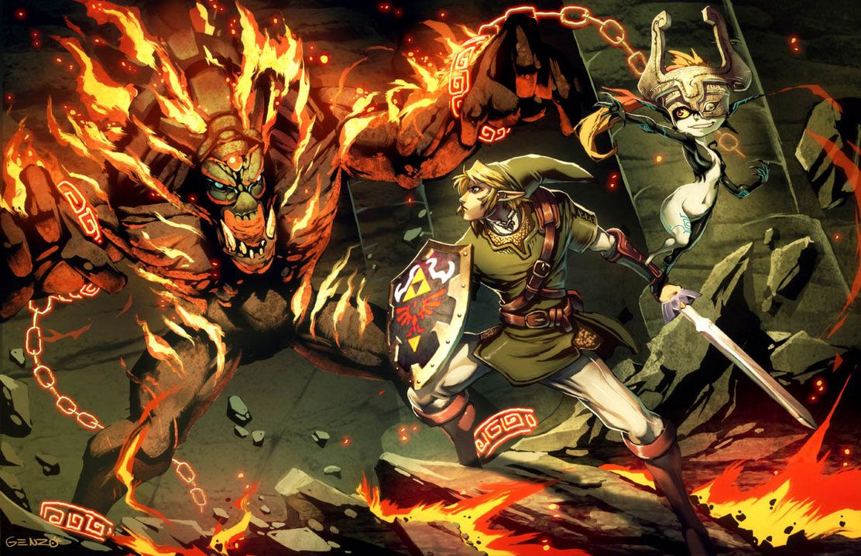 Videogames And Comic Artwork By Genzoman On Deviantart Zelda Twilight Princess Twilight Princess Legend Of Zelda