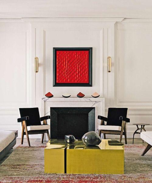 madabout-interior-design: In Paris, under the Eiffel Tower, a