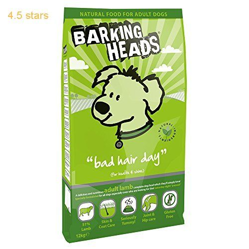 Barking Heads Dog Food Bad Hair Day Lamb And Rice 12kg Dry Dog