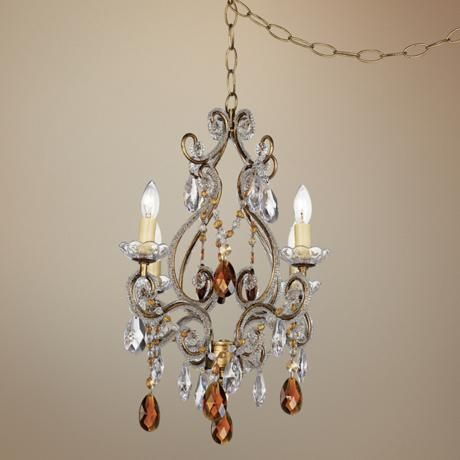 Images About Lamps On Pinterest Plug In Chandelier Hanging Chandeliers That