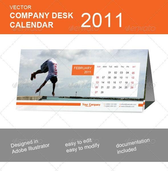 Company Desk Calendars