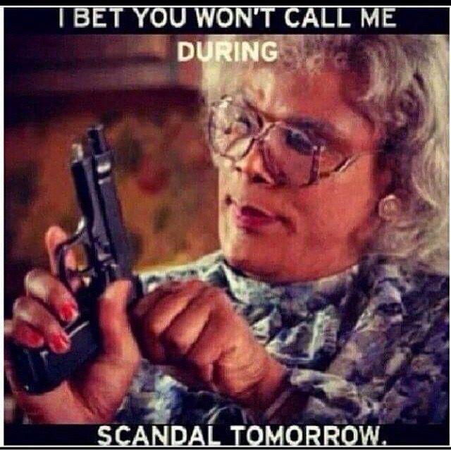 SCANDAL THURSDAY'S LOL