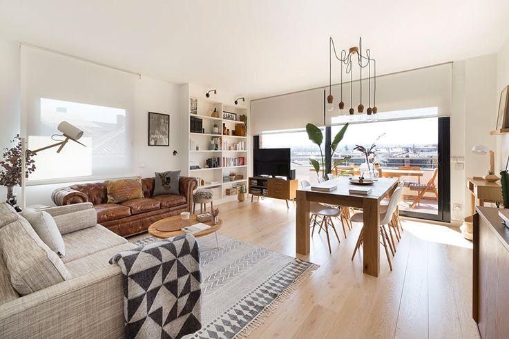 Deco Chaleureuse Dans Un Appartement Moderne Maison