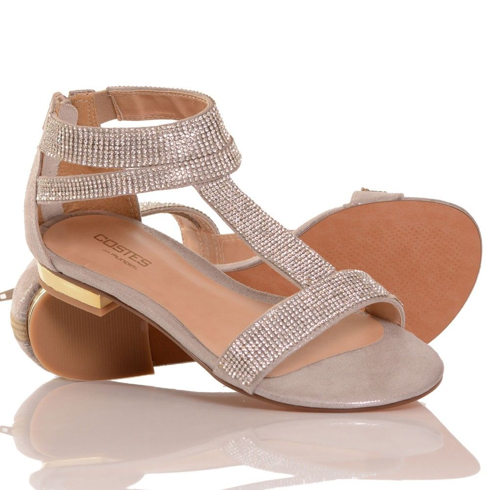 56bd8bcfd Sandália Rasteira London Costes | Mundial Calçados - MundialCalcados ...