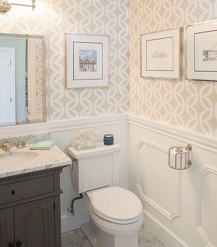 Lovely Bathroom. And The Toilet Paper Holder!