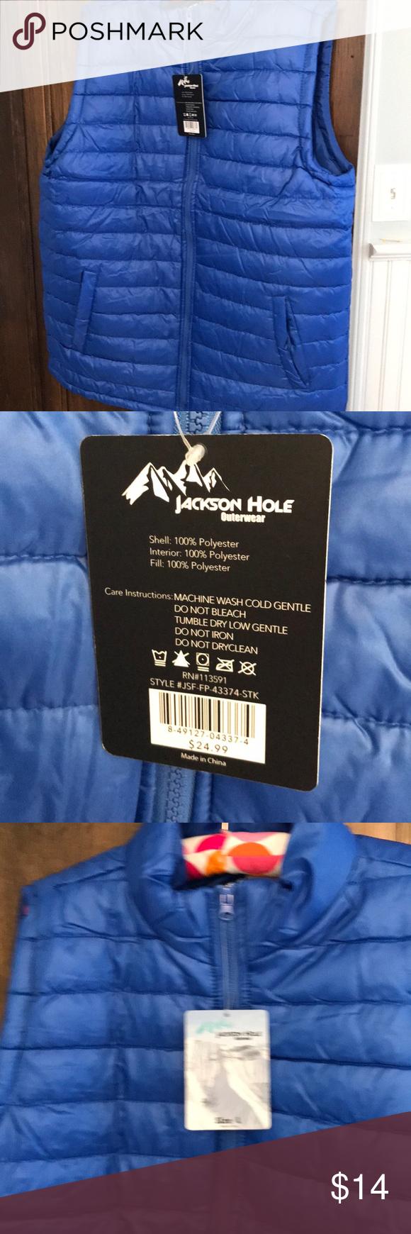 Men S Large Jackson Hole Vest Large Nwt Jackson Hole Jackson Vest [ 1740 x 580 Pixel ]