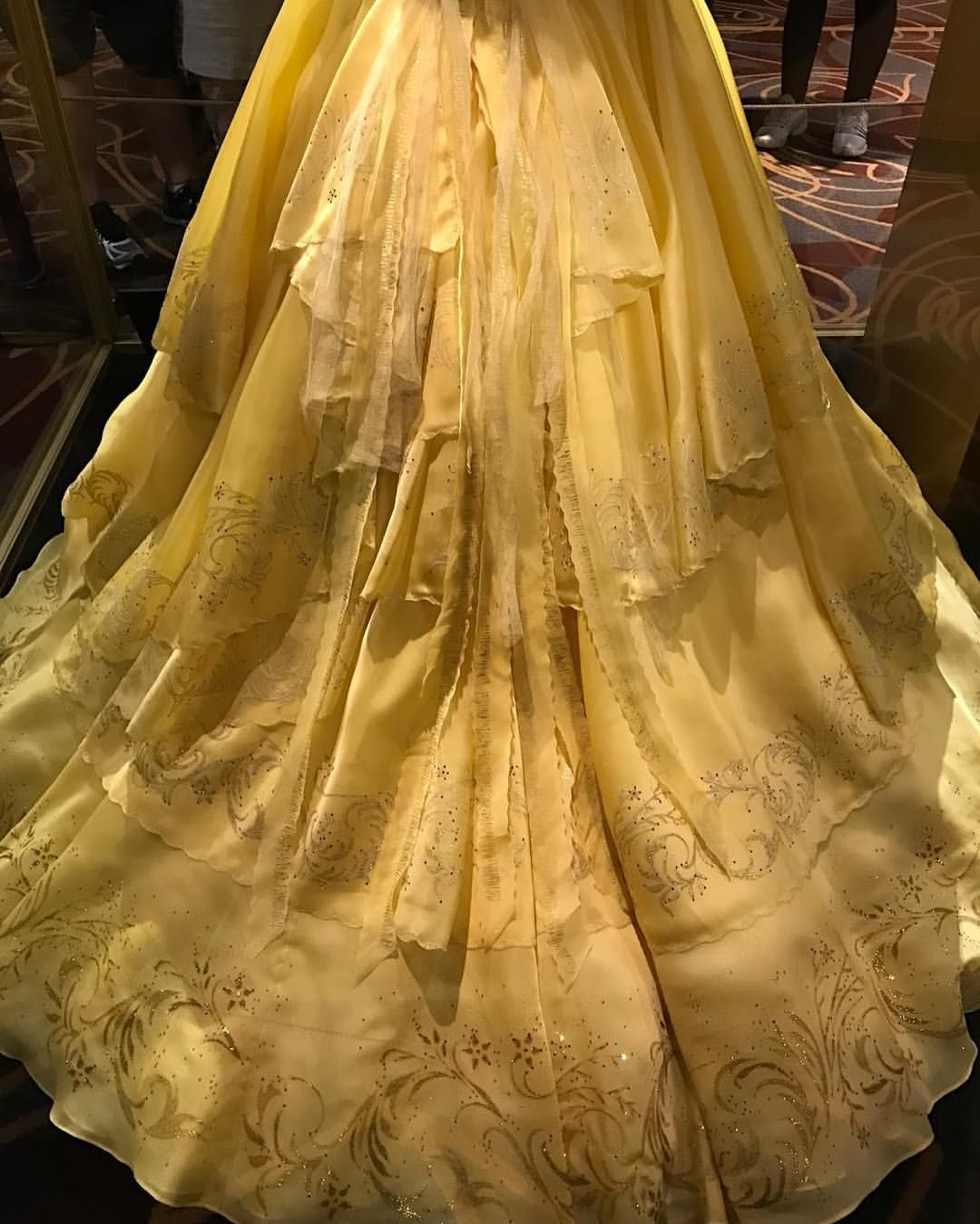 Belles Dress From The Live Action Beauty And Beast