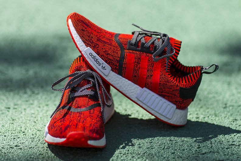 adidas Originals Will Be Releasing 200 Pairs Of The adidas NMD R1 Primeknit   Red Apple  In Honour Of Their NYC Flagship c9d4e3924