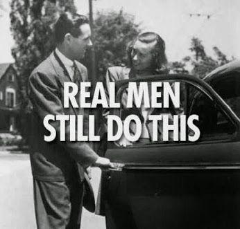 ...as a gentleman should.
