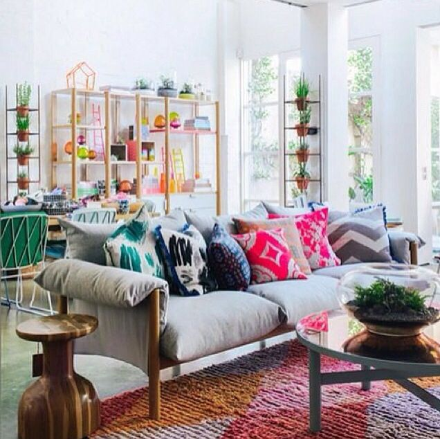 10 Tips for Mixing Patterns Like a Master! | Boho, Living rooms ...