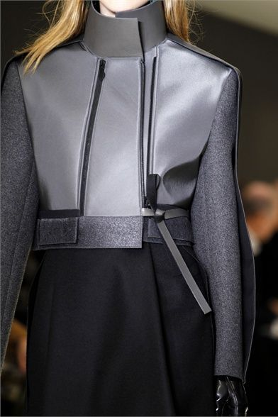 Photos and comments about the collection, the outfits and accessories from Balenciaga presented for Fall Winter 2012-13