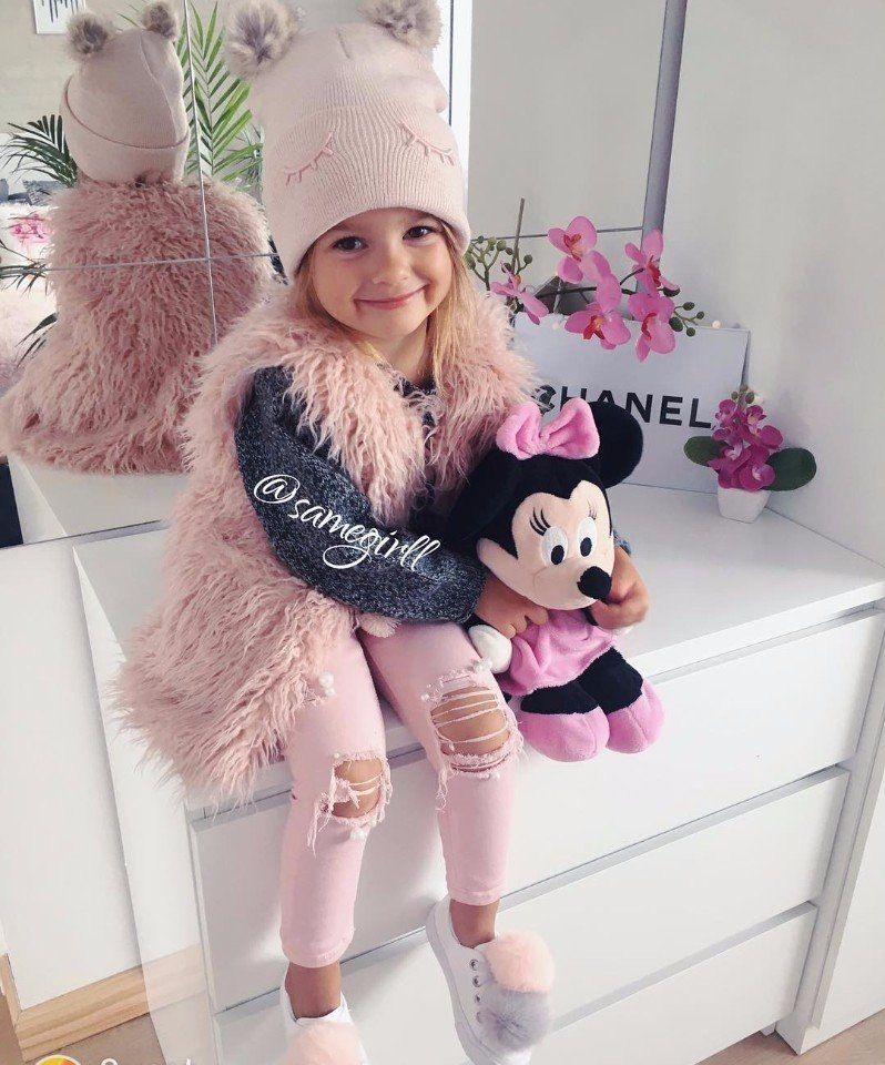21fbbc0d3367db7 Модные детские луки,одежда для девочек | Детская Мода.детская одежда ...