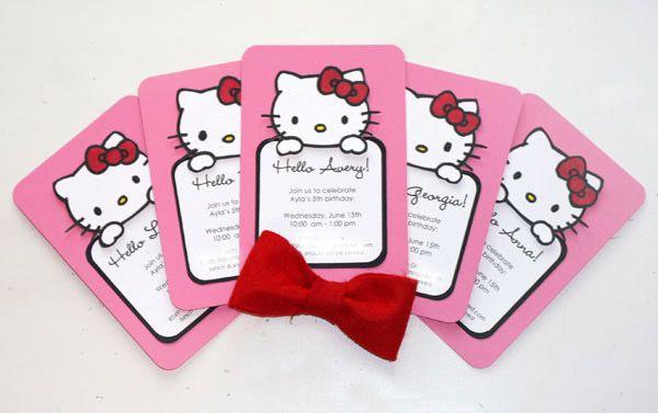 Hello Kitty Birthday Party Ideas – Hello Kitty Birthday Party Ideas Invitations