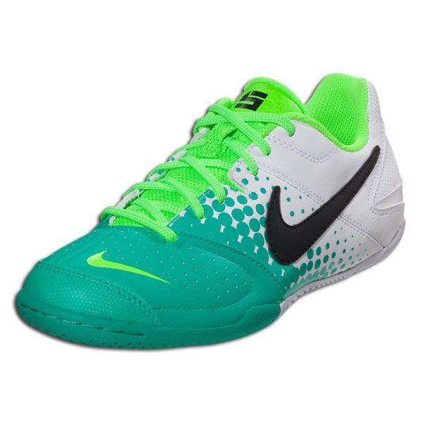 official photos a4bcf 109e2 Nike Nike5 Elastico Junior - Atomic Teal White Electric Green Black Indoor  Soccer Shoes