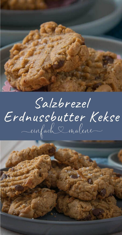 Süß und salzig – diese Peanutbutter Cookies machen definitiv süchtig – *Einfach Malene – Blog Rezepte*