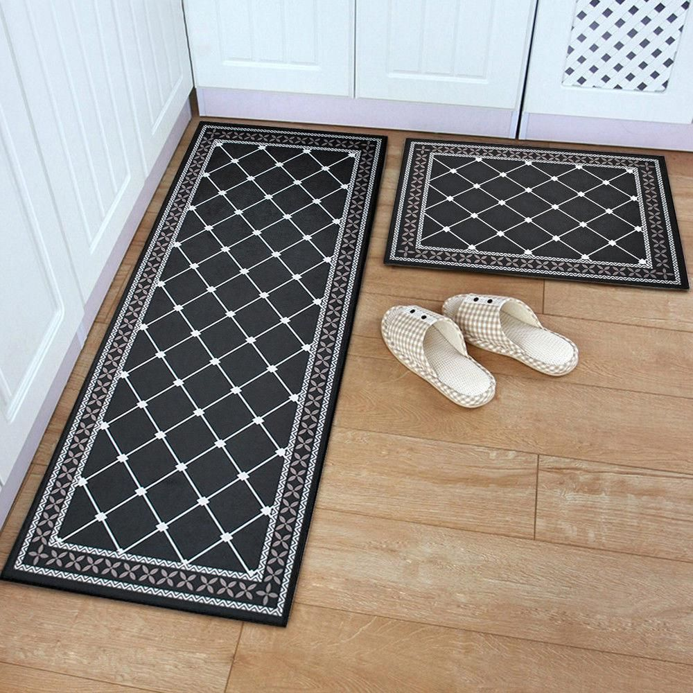 11 99 Aud Non Slip Home Kitchen Floor Mat Machine Washable Rug Door Runner Hallway Carpet Ebay Home Garden Ho Rugs On Carpet Rugs Kitchen Rugs Washable
