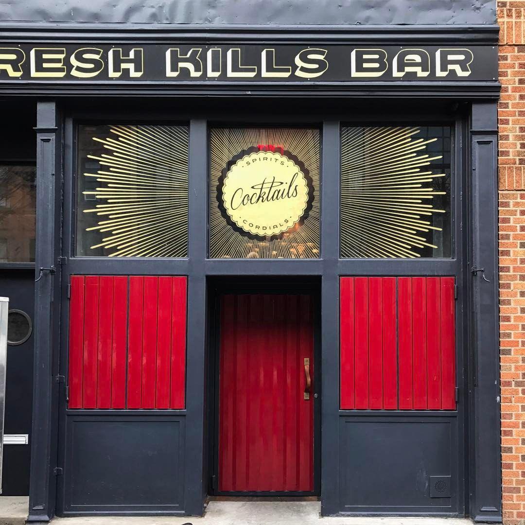 *This* is a cocktail bar. Fresh Kills Bar in Williamsburg ...