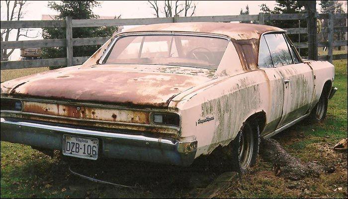 Malibu With Images Barn Find Cars Junkyard Cars Car Barn