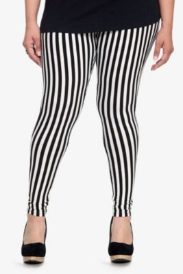 91da594543b Black   White Leggins (Yes) A Thick Girl Must Have!